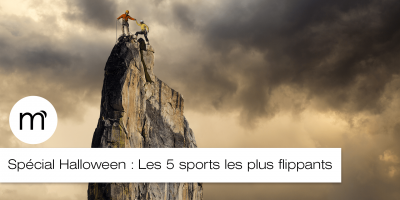 Les 5 sports les plus flippants